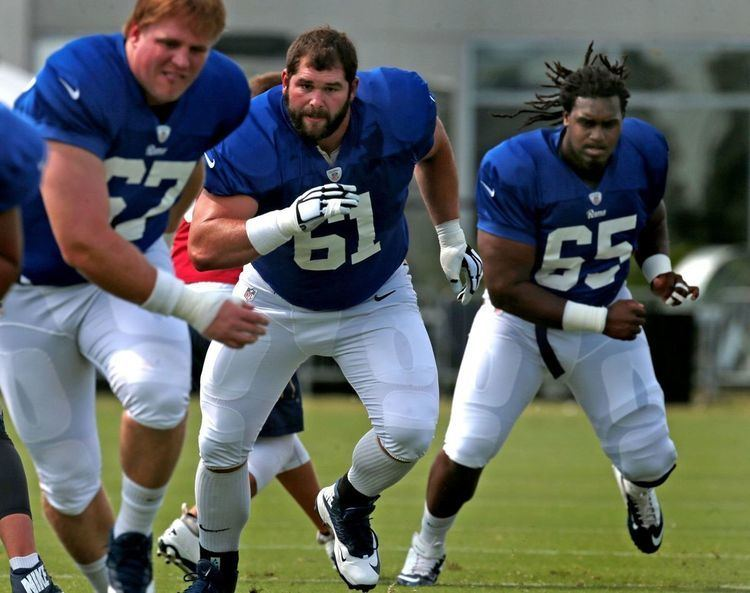 Tim Barnes (American football) Threeway battle for starting center in Rams camp NFL stltodaycom