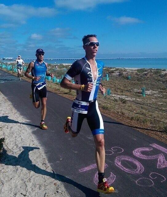 Tim Berkel Trizone Triathlon News Final three weeks preparation