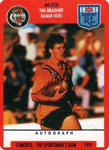 Tim Brasher The Greatest Game of All Rugby League Cards Tim Brasher