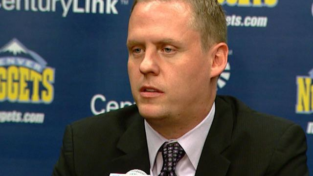 Tim Connelly Denver Nuggets Introduce Tim Connelly As New GM CBS Denver
