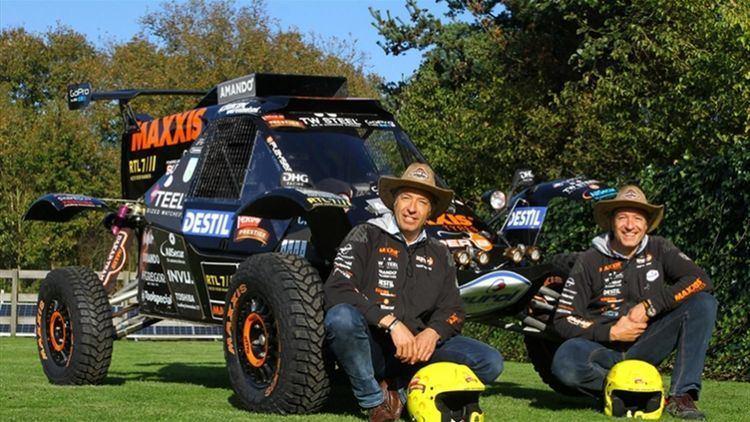 Tim Coronel Tom Tim Coronel to Race Dakar 2016 RaceDepartment