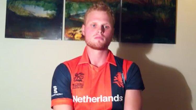Tim Gruijters (Cricketer) playing cricket