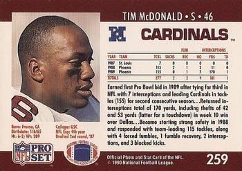 Tim McDonald The Trading Card Database Tim McDonald Gallery
