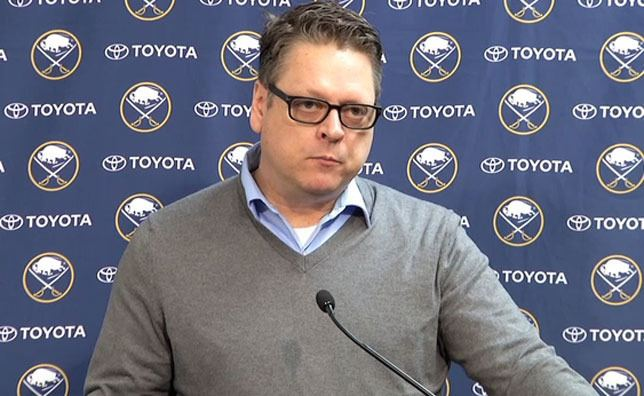 Tim Murray (ice hockey executive) TIM MURRAY DESCRIBES DRAFT LOTTERY AS quotANOTHER DAY IN THE
