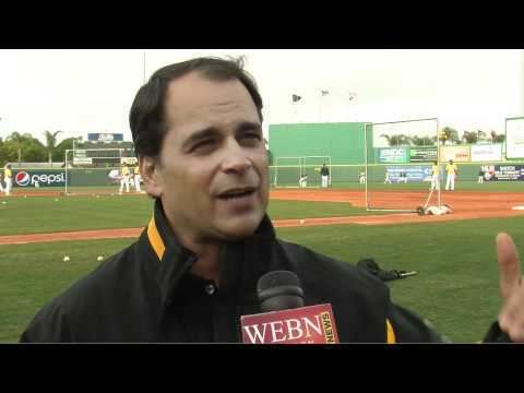 Tim Neverett Pirates broadcaster Tim Neverett talks about broadcasting at Spring