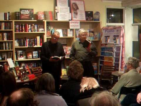 Tim Saunders Tim Saunders reads Cornish language poetry at Mostly Books YouTube