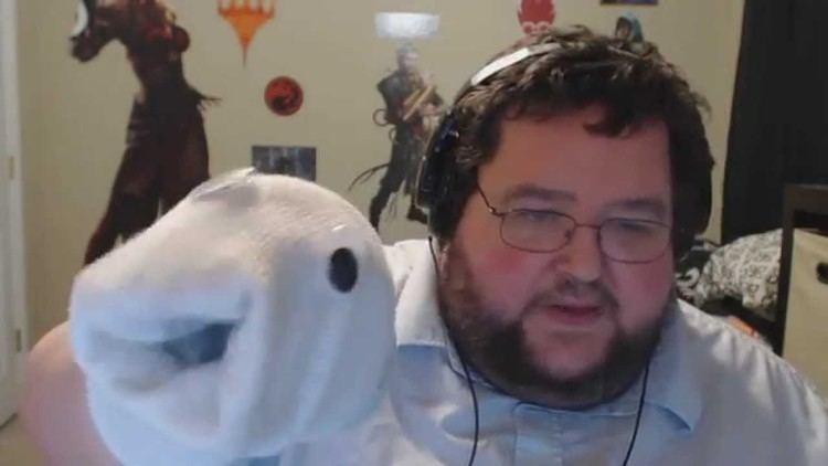 Tim Schaffer Francis Makes a Tim Schafer Sock Puppet YouTube