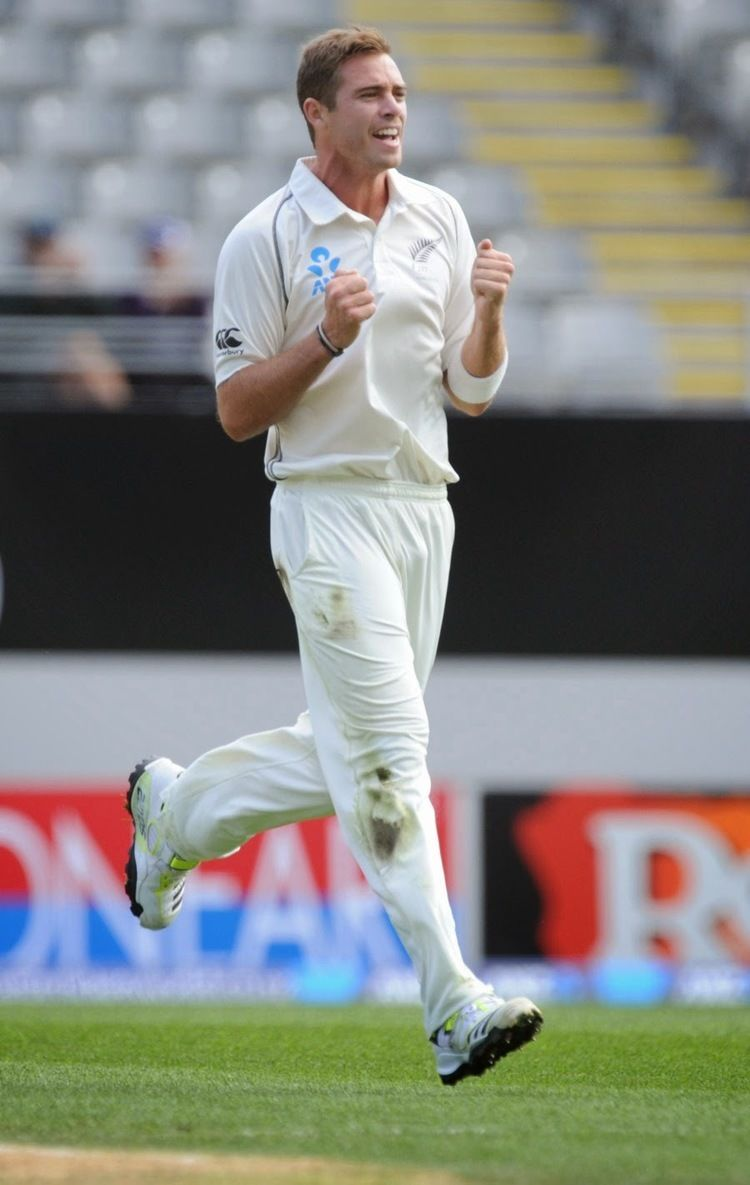 Tim Southee (Cricketer) in the past