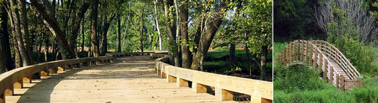 Timber bridge Bridge Builders USA Inc Why TimberWhy Use Timber Bridge