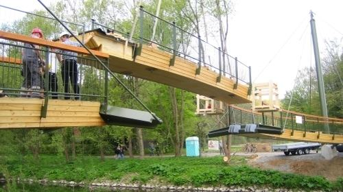 Timber bridge Timber bridges and timber bridges with glulam