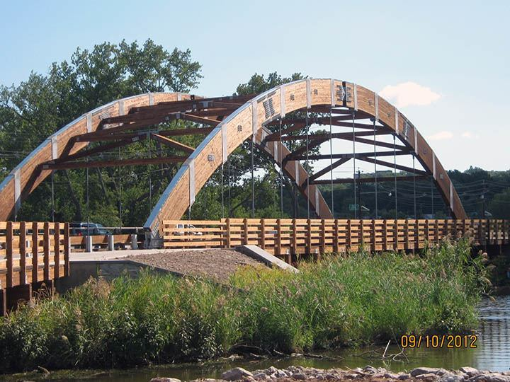 Timber bridge Vehicular Timber Bridge Design Construction and Supply