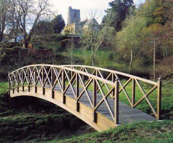 Timber bridge Timber footbridges hardwood softwood amp FSC CTS Bridges ESI