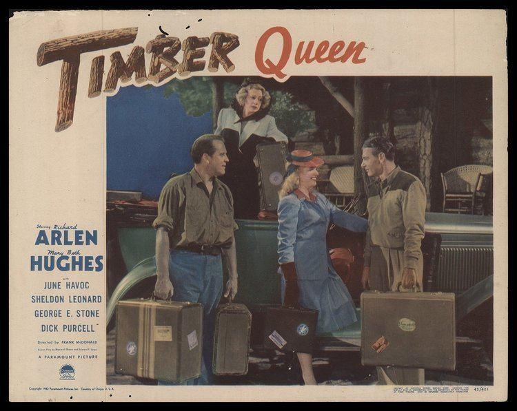Timber Queen 1944 ORIGINAL MOVIE POSTER Drama Dimensions 11 x 14