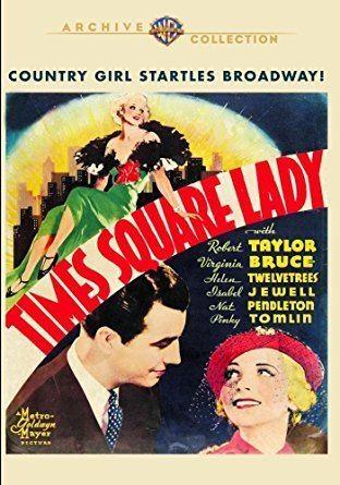 Amazoncom Times Square Lady 1935 Robert Taylor I Henry