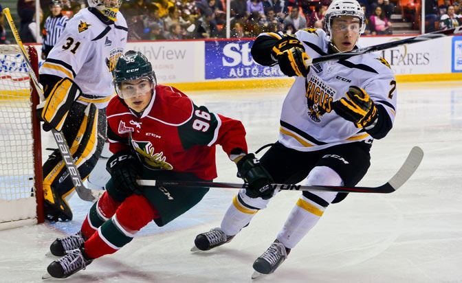 Timo Meier Timo Meier of Halifax Mooseheads emerges as star in second