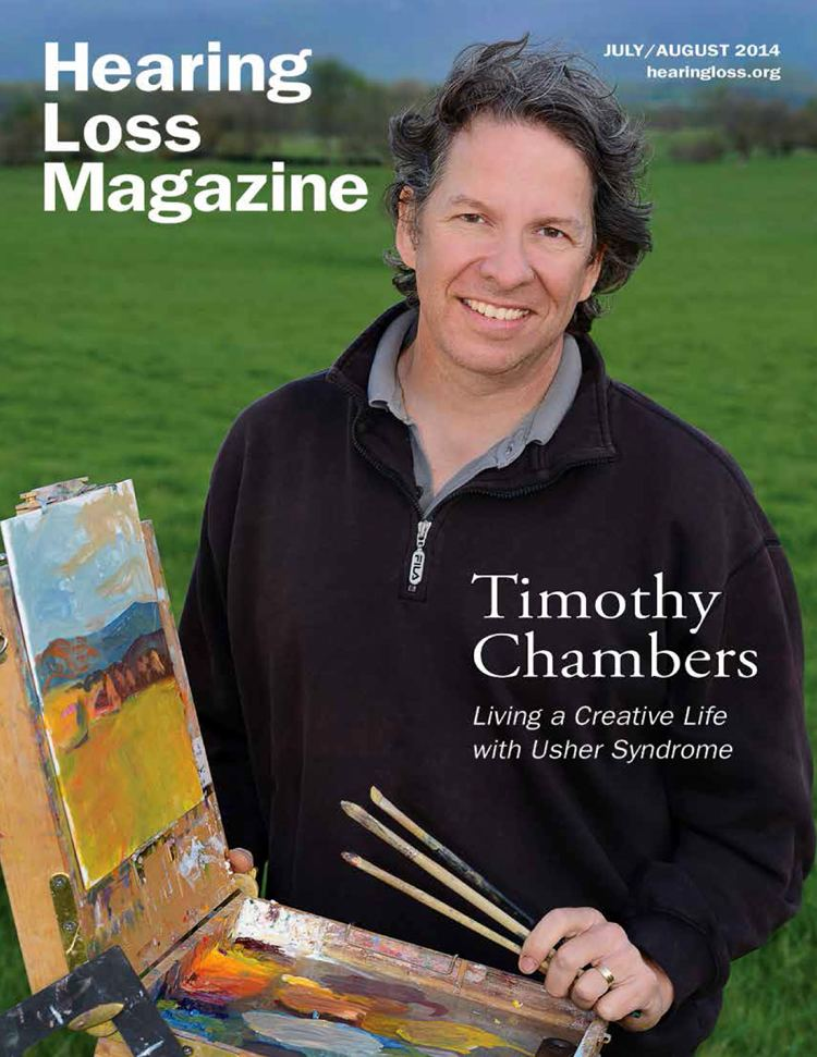 Timothy Chambers Timothy Chambers Living a Creative Life with Usher Syndrome Cindy