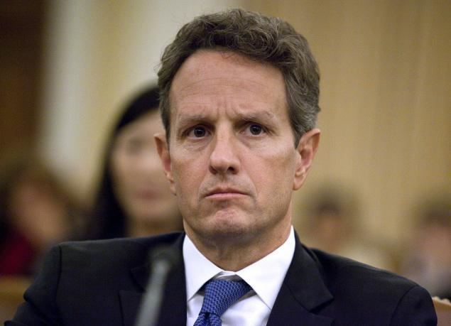 Timothy Geithner On Tim Geithner and my US bailout postmortem Credit