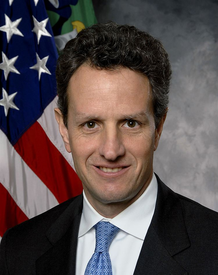Timothy Geithner FileTimothy Geithner Treasuryjpg Wikimedia Commons