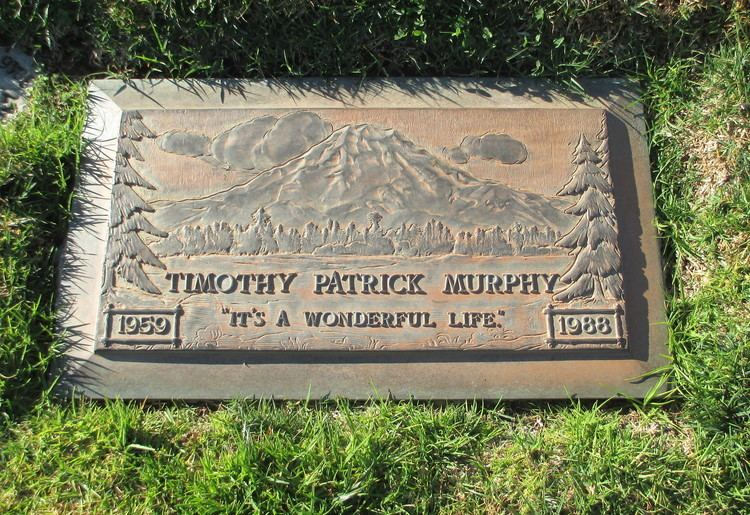 Timothy Patrick Murphy Timothy Patrick Murphy Actor perhaps best known for his role as