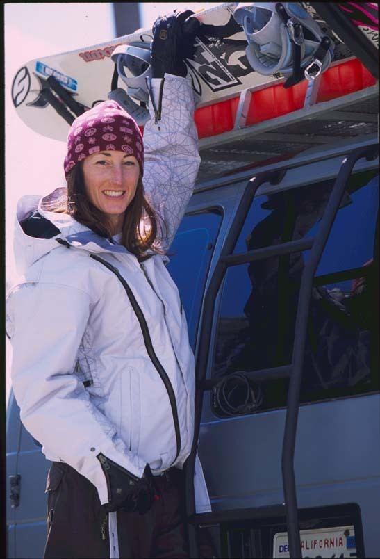 Tina Basich RakunRaccoon Snowboard Peace Camp SljemeIgman 2006