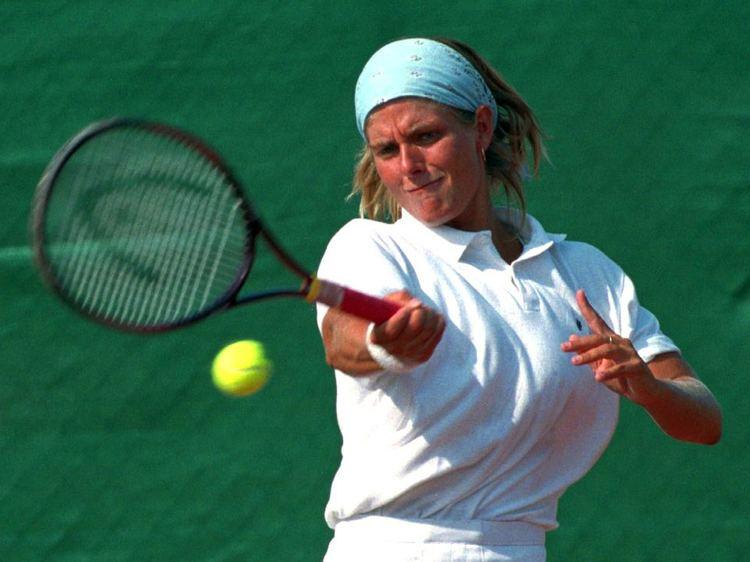 Tine Scheuer-Larsen Tine ScheuerLarsen Danmark WTA Tennis Memories 80s