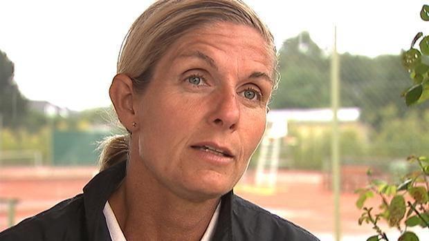 Tine Scheuer-Larsen Tine Scheuer Wozniacki har stadig grund til optimisme p