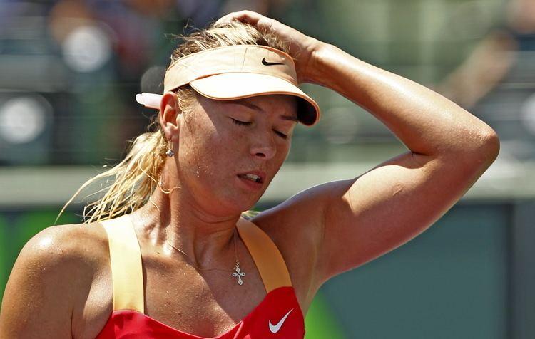 Tine Scheuer-Larsen Chokeret Tine Scheuer Det er en trist dag Tennis DR