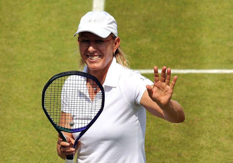 Tine Scheuer-Larsen Scheuer Ta39 Navratilova Caroline Tennis wwwbtdk
