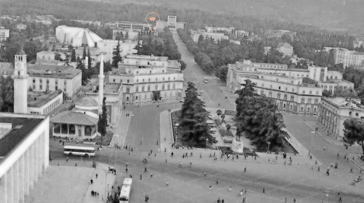 Tirana in the past, History of Tirana