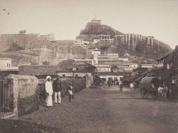 Tiruchirappalli in the past, History of Tiruchirappalli
