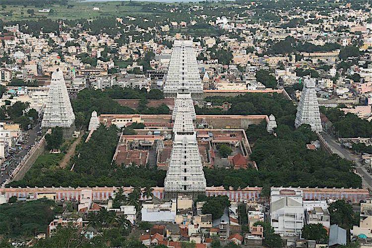 Tiruvannamalai in the past, History of Tiruvannamalai