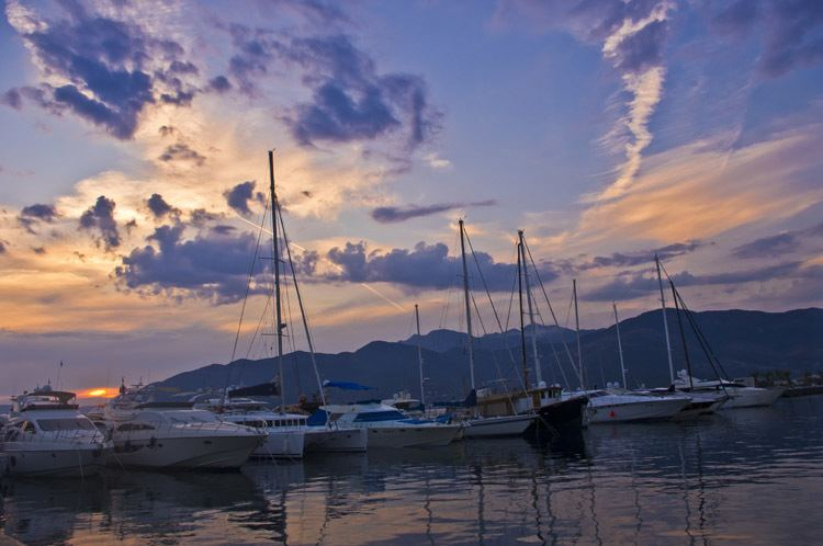 Tivat Beautiful Landscapes of Tivat