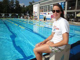 Tjaša Vozel Tjaa Vozel plavanje 100 m prsno Prvi interaktivni