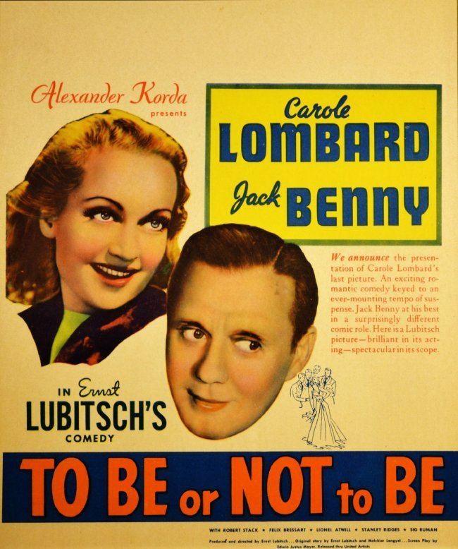 To Be or Not to Be (1942 film) To Be or Not to Be 1942