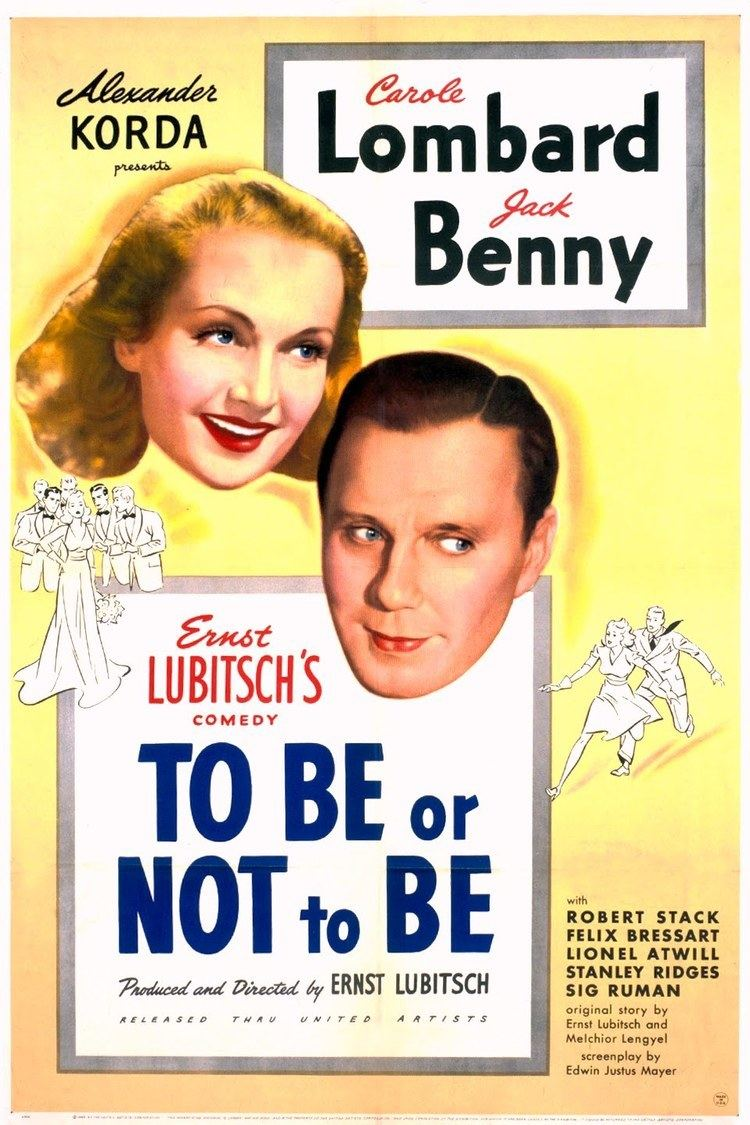 To Be or Not to Be (1942 film) wwwgstaticcomtvthumbmovieposters1972p1972p