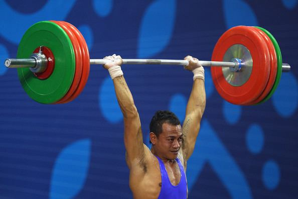Toafitu Perive Day 6 Weightlifting Mens 77kg Toafitu Perive SAMOA