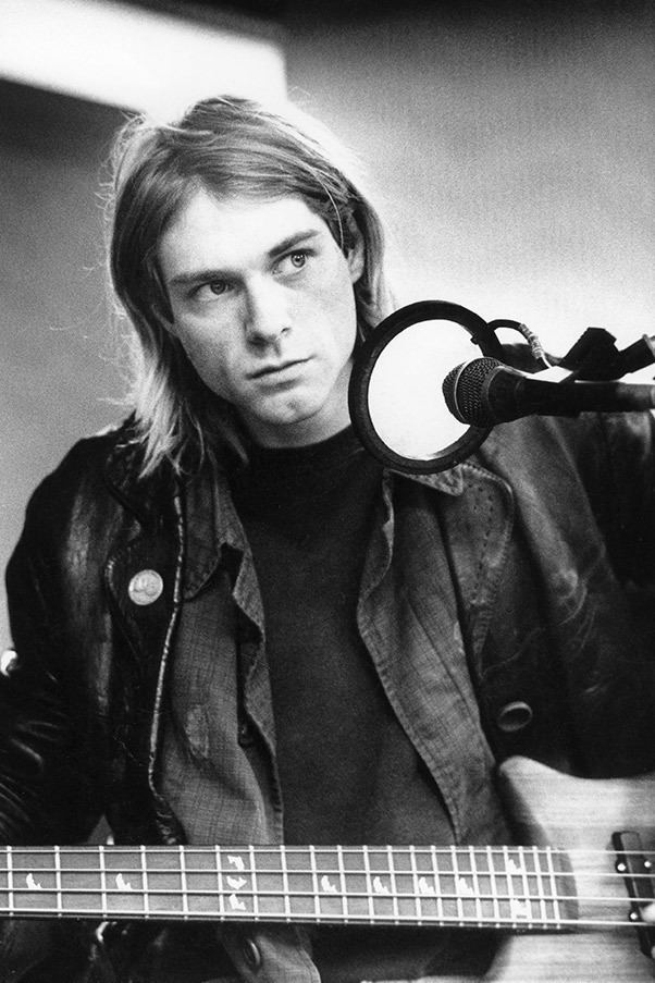 Tobi Vail Seven things you didn39t know about Kurt Cobain Elle