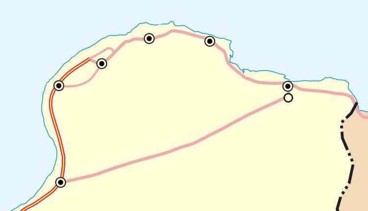 Tobruk–Ajdabiya Road