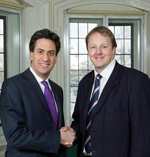 Toby Perkins Labour denies Ed Miliband stood on a box in Toby Perkins photo