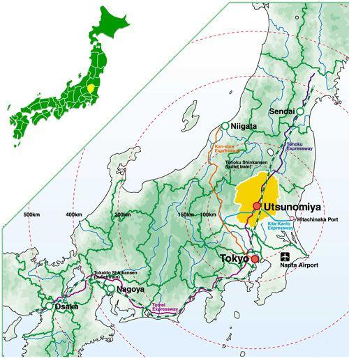Tochigi Prefecture Prefectural Overview