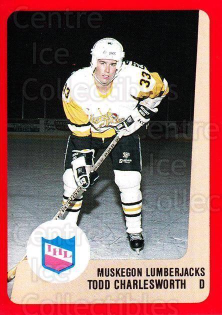 Todd Charlesworth Center Ice Collectibles Todd Charlesworth Hockey Cards