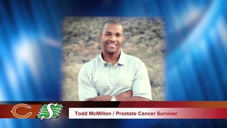 Todd McMillon NFL Todd McMillon Prostate Cancer PSA Chicago Bears