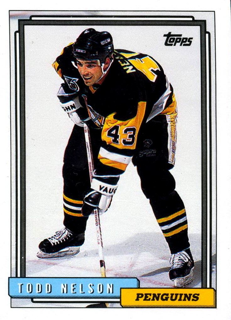 Todd Nelson (ice hockey) Todd Nelson Players cards since 1992 1993 penguinshockey