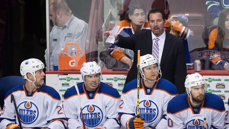 Todd Nelson (ice hockey) Oilers Todd Nelson free to look elsewhere Sportsnetca
