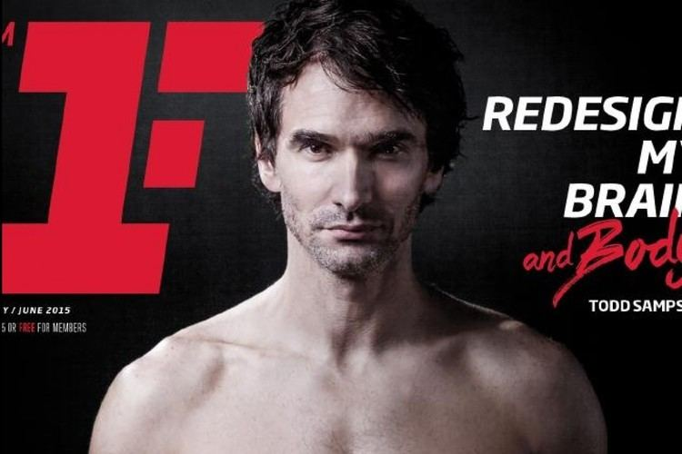 Todd Sampson Todd Sampson Reveals Ripped Bod In Fitness First Mag BampT