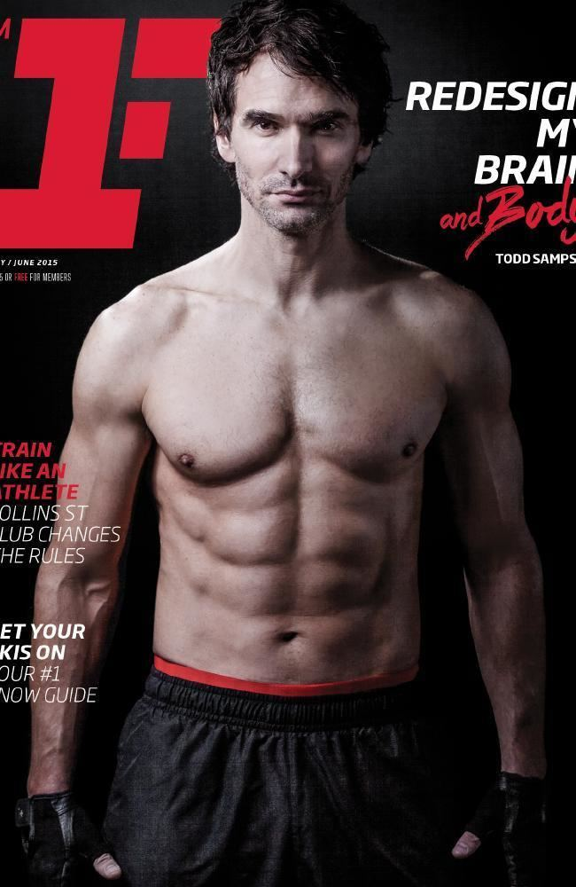 Todd Sampson Todd Sampson shows hot body and workout in Fitness First