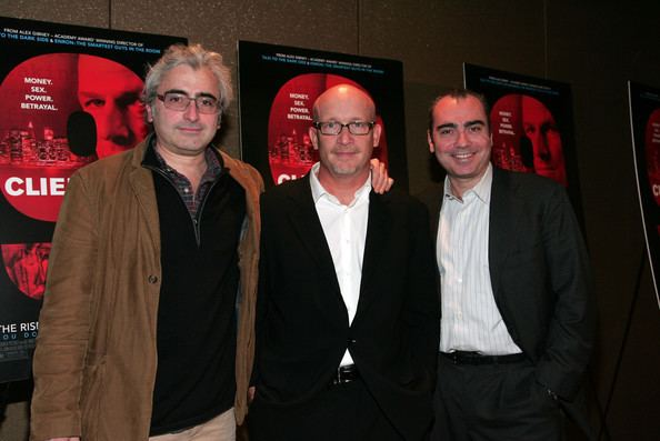 Todd Wider Alex Gibney and Todd Wider Photos quotClient 9 The Rise