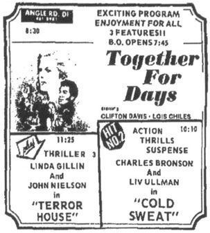 Together For Days lost Samuel L Jackson indie film 1972 The