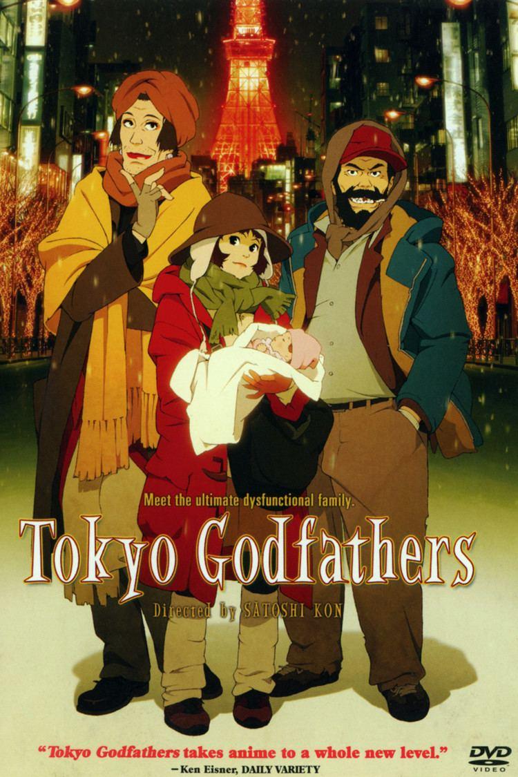 Tokyo Godfathers wwwgstaticcomtvthumbdvdboxart33806p33806d