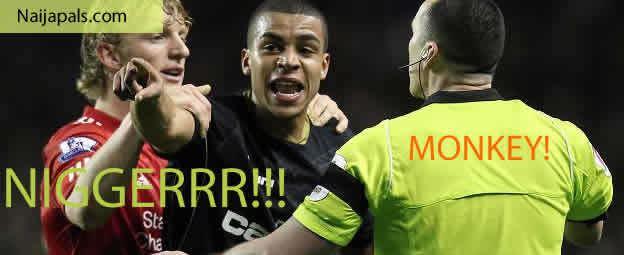 Tom Adeyemi racism again in liverpool football club stadium adeyemi racially